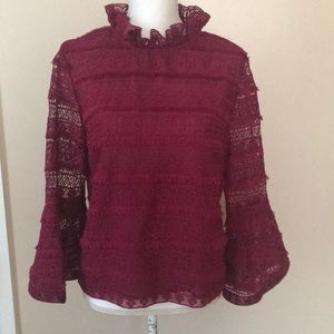 NWOT Ina bell sleeve top